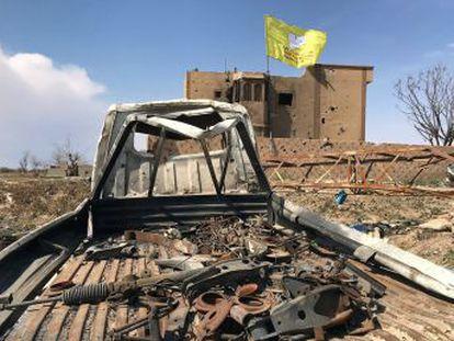 Las milicias kurdas aliadas de la coalición anuncian la derrota del ISIS tras casi cinco años de combates