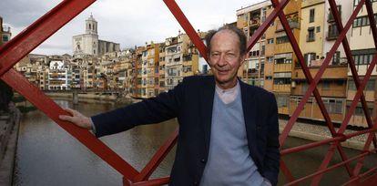 El filósofo italiano Giorgio Agamben fotografiado en Girona en 2014.