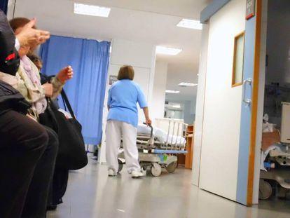 Dependencias del Hospital Joan XXIII de Tarragona.
