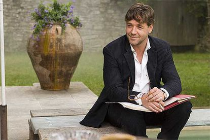 Russell Crowe, in a picture from 'A Good Year'.
