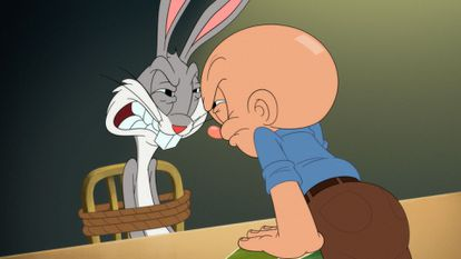 Bugs Bunny y Elmer en los nuevos 'Looney Tunes Cartoons'.