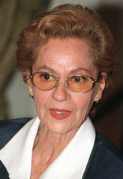 Asunción Sancho en una fotografía tomada en 1999.