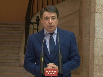 """Ignacio González: """"Eurovegas nos ha pedido un imposible"""""""