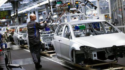 Fábrica de Volkswagen en Wolfsburgo.