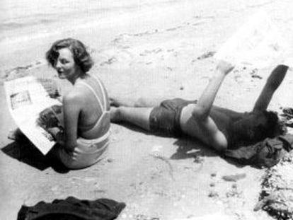 Jessica Mitford y Esmond Romilly en 1938.