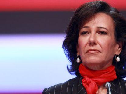 Ana Botín, en la junta General Extraordinaria de Accionistas del  Santander.