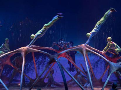 Un momento de Totem, el espectáculo del Cirque du Soleil. CARLES RIBAS