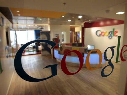 El logo de Google, una de las grandes empresas tecnológicas.
