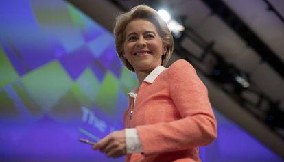 Ursula von der Leyen, este martes en Bruselas.