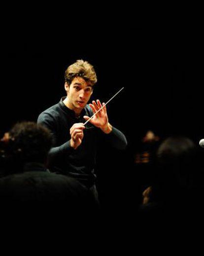El ganador del concurso de dirección de Orquesta de Cadaqués, Lorenzo Viotti