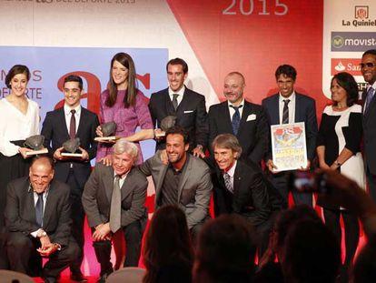 Así fue la gala de los Premios AS