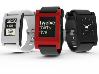 Pebble, el reloj  inteligente más vendido hasta el momento.
