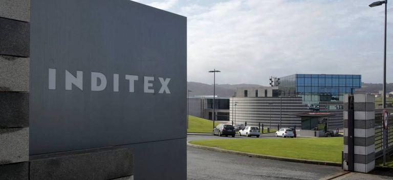 Entrada a la sede de Inditex en Arteixo (A Coruña).