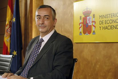 El secretario de Estado de Hacienda, Carlos Ocaña.