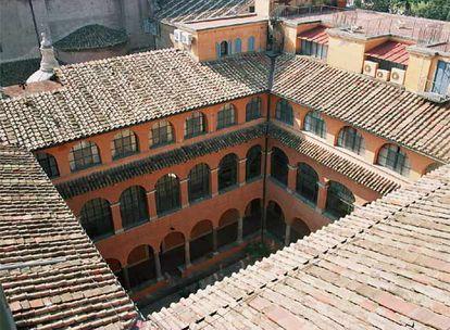 Vista de la Academia de España en Roma, fundada en 1873 (imagen cedida por la institución).