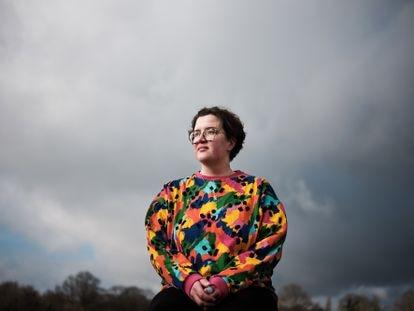 Katharina Volckmer, en Londres.