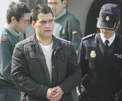 José Manuel García Adán, principal imputado de la Carioca, en una prueba judicial en 2010.