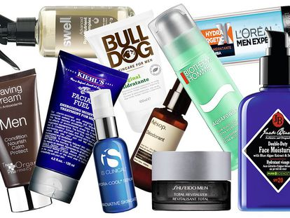 El 50% de los hombres españoles utiliza a diario productos de cosmética.