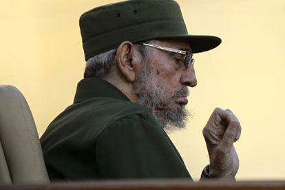 Fidel Castro, en un encuentro con estudiantes en La Habana el 3 de septiembre.