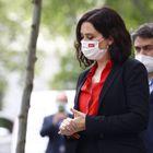 La presidenta de la Comunidad de Madrid, Isabel Diaz Ayuso