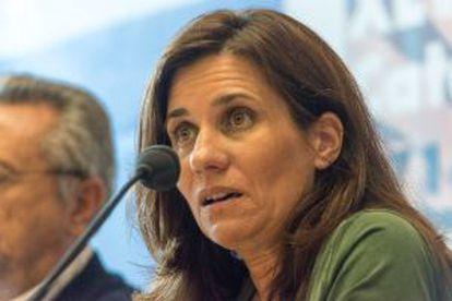 Gemma Calvet, diputada de ERC.