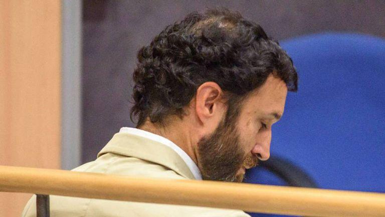 José María Martínez, durante una sesiones del juicio por abusar sexualmente de un menor en el colegio del Opus de Gaztelueta.