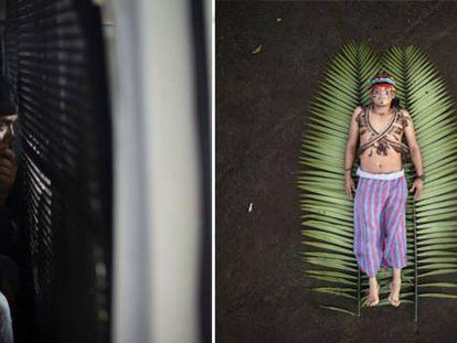 Protagonistas de los reportajes 'Frontera sur' y 'Defensores de la selva'.