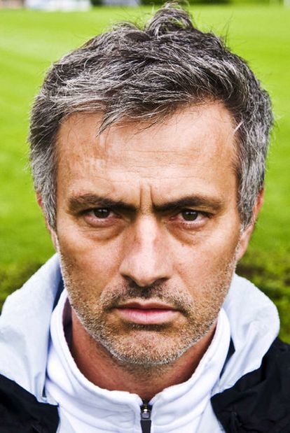 Un primer plano de José Mourinho.