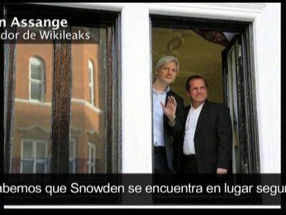 """Assange: """"Está bien y en lugar seguro"""""""
