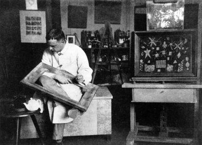 el artista alemán Paul Klee se convirtió en una referencia en la pintura