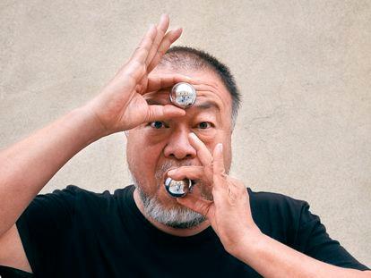 Ai Weiwei, a principios de octubre, en la Cordoaria Nacional, en Lisboa.