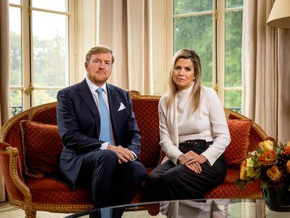 Guillermo y Máxima de Holanda en una imagen del 21 de octubre.