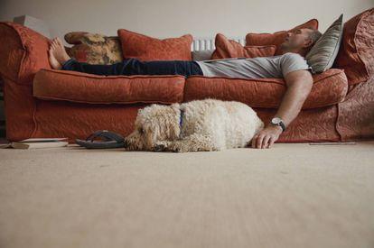 Quedarse traspuesto en el sofá: una alternativa a salir que parece ganar popularidad a medida que cumplimos años.