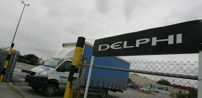 Antigua factoría de Delphi en Puerto Real.