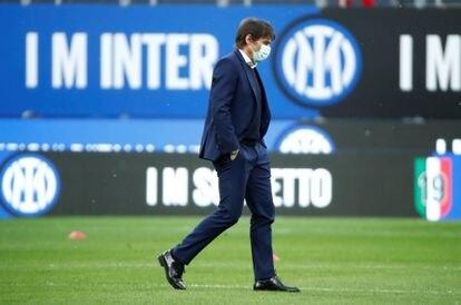 Antonio Conte, exentrenador del Inter de Milán.