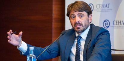 Jorge Marichal, hasta ahora presidente de la Confederación Española de Hoteles (Cehat).