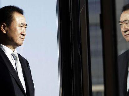 Wang Jianlin, en la sede de la inmobiliaria que le hizo rico, Dalian Wanda Group, en Pekín.