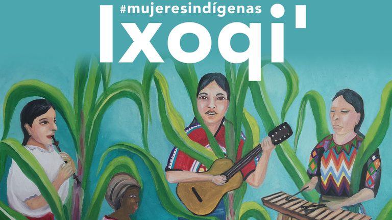 Imagen de la playlist colaborativa de Spotify donde se reúnen por primera vez las voces de decenas de artistas indígenas.