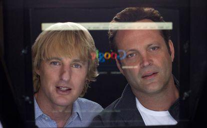 Owen Wilson y Vince Vaughn en 'Los becarios'.