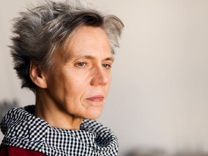 La escritora Esther Kinsky.