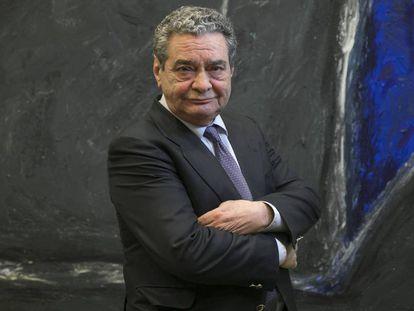 Augusto Delkader, nuevo presidente de honor de la Cadena SER, en una imagen de 2018.