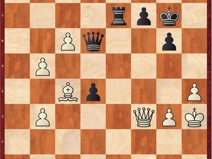 Posición tras 43 …Dd6