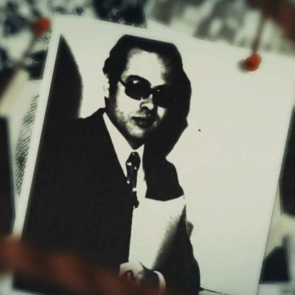 Un montaje con la foto del agente egipcio Ashraf Marwan en el documental 'Ashraf Marwan: Death of a Superspy' (2020)