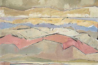 <i>Paisaje quebrado</i> (1983), de Caneja.