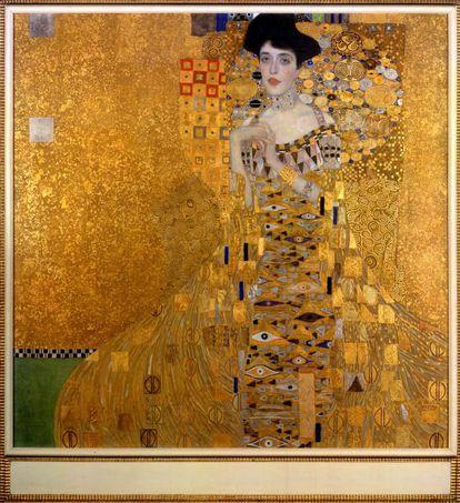'Adele Bloch-Bauer I' (1907), de Gustav Klimt.