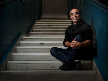 Manuel Segovia, coreógrafo y director de la Compañía Ibérica de Danza, en el Centro Cultural Pérez de la Riva de Las Rozas.