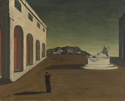 'La melancolía de un día hermoso', de Giorgio de Chirico (1913).