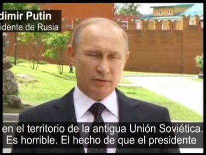 El presidente Putin aboga por un alto el fuego duradero.