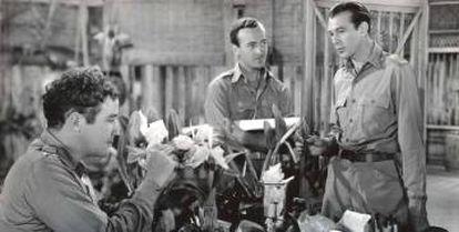 Una imagen de 'La jungla en armas', dirigida por Henry Hathaway.