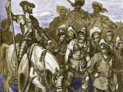 Ilustración de Gustav Doré para el 'Quijote'.